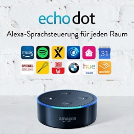 Amazon Echo Dot (2. Gen.) Intelligenter Lautsprecher mit Alexa ✪