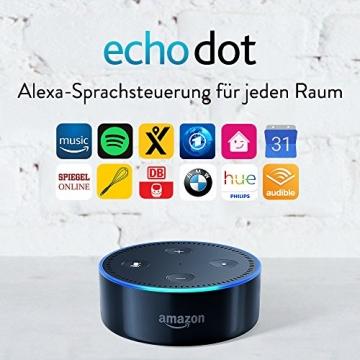 Amazon Echo Dot (2. Gen.) Intelligenter Lautsprecher mit Alexa ✪