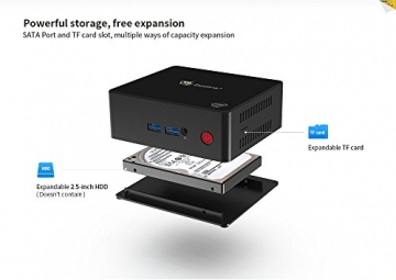 Beelink X45 Mini PC 4 6GB RAM - Intel Gemini Lake J4105 CPU/2.4GHz/4MB ✪
