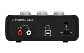 Behringer UM2 USB 2.0 Audio-Interface ✪