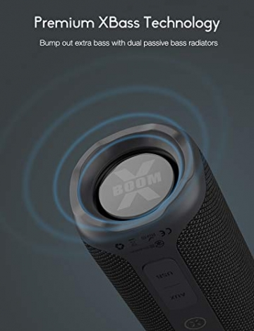Tribit XBOOM Bluetooth Lautsprecher (BTS30) ✪