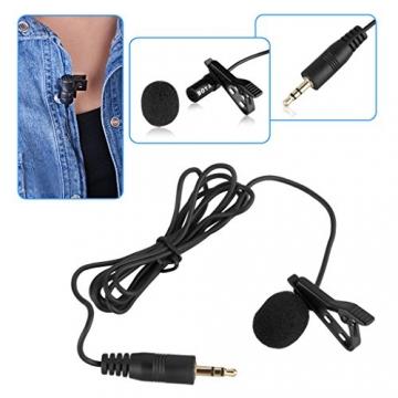 BOYA BY-M1Lavalier-Mikrofon für DSLR Kameras & Smartphones ✪