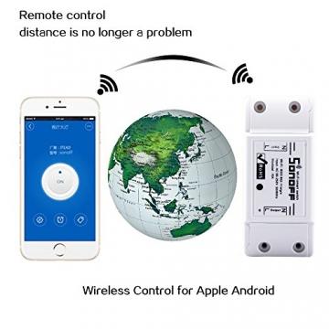 SONOFF Basic Smart Home Relais für Alexa & ioBroker (10A) ✪