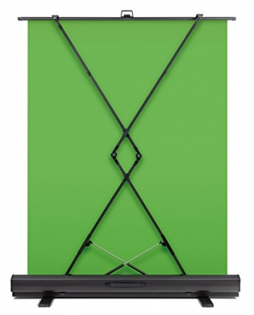 Elgato Green Screen - Ausfahrbares Chroma-Key-Panel zur Hintergrundentfernung ✪