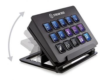 Elgato Stream Deck - Live Content Creation Controller mit personalisierbaren LCD-Tasten ✪