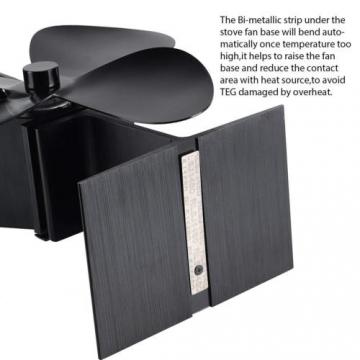 Stromloser Kaminofen Ventilator für Holzofen ✪