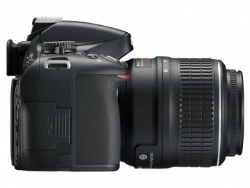 Nikon D5100 SLR-Digitalkamera mit schwenk Display (16 Megapixel) ✪