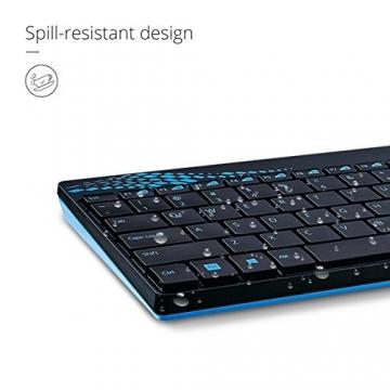 Rapoo 8000 Wireless Deskset (Tastatur, Maus) ✪