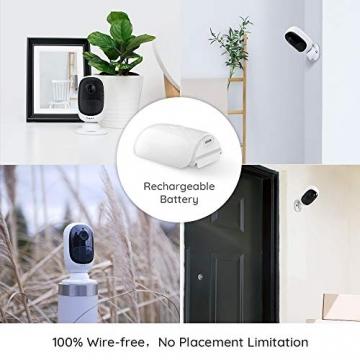 Reolink Argus 2 Überwachungskamera für Aussen  mit WLAN & Akku ✪