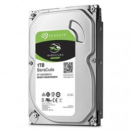 Seagate Barracuda 1 TB interne Desktop Festplatte (3,5 Zoll) 64 MB Cache, Sata 6 Gb/s) ✪