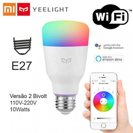 Xiaomi Yeelight Smart LED Glühbirne - Color mit 16 Millionen Farben E27 ✪