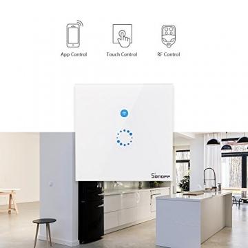 Sonoff Touch – 1CH WLAN Schaltrelais für Smart Home, Alexa & ioBroker ✪