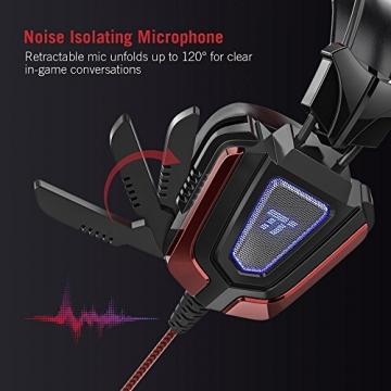TaoTronics Gaming Headset mit LED-Beleuchtung ✪