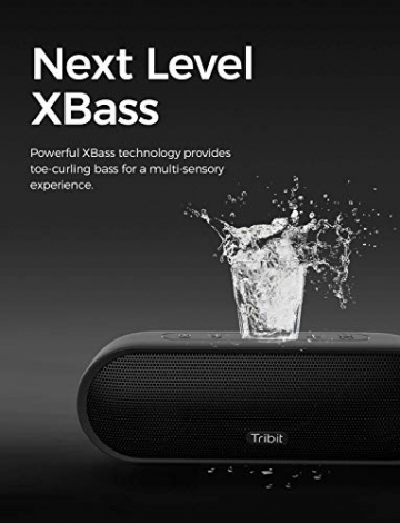 Tribit MaxSound Plus Bluetooth Lautsprecher ✪