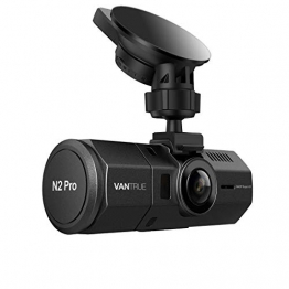 VANTRUE N2 Pro Dual Dashcam Infrarot Nachtsicht Dual Full HD - Kamera vorne & hinten ✪