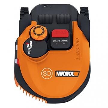 Worx Landroid SO500i Mähroboter – Automatischer Rasenmäher für bis zu 500 qm mit WLAN-Verknüpfung ✪