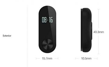 Xiaomi Mi Band 2 Fitnessarmband (Schlaftracker, Aktivitätstracker, Pulsmesser) ✪