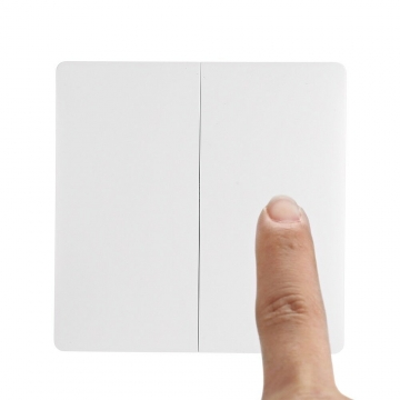 Xiaomi Aqara Smart Home Doppel Lichtschalter - Batterie Version (WXKG02LM) ✪