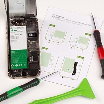 iPhone 7 Plus Lithium-Ionen Akku Austausch-Set mit Werkzeug & Bildanleitung ✪