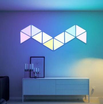 Alfawise A9 Pro - Modulare LED Wandbeleuchtung (wie Nanoleaf Aurora) ✪