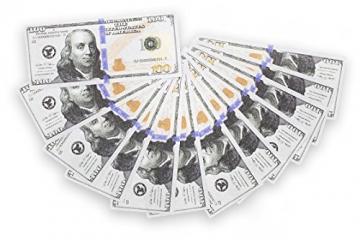 10,000 US Dollar Film Geldscheine - 100 mal 100$ ✪