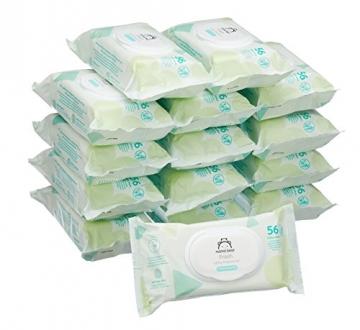Mama Bear Fresh Baby-Feuchttücher – 15er Packung (840 Tücher) ✪