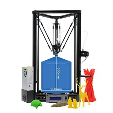 ANYCUBIC Kossel Linear PLUS 3D Druckerbausatz (verbesserte Version) Mit Auto Leveling ✪