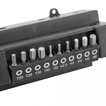 Schraubendreher Werkzeug Set aus Chrom Vanadium Stahl mit Bitsatz (37 TLG) ✪