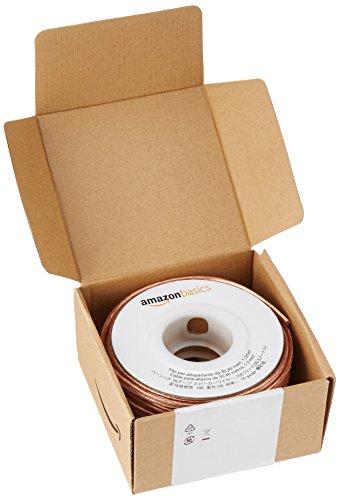 AmazonBasics Lautsprecherkabel 1,3 mm² / 16 Gauge, 30,4 m (100 Fuß) ✪