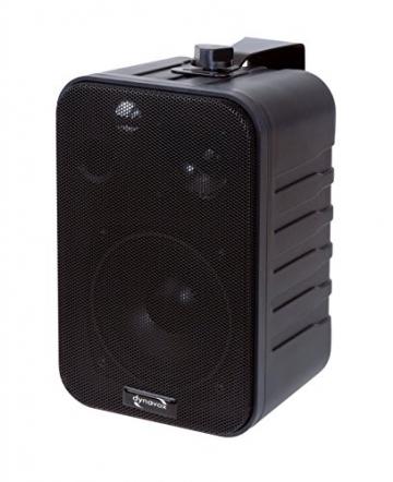 Dynavox 3-Wege Lautsprecher Mit Halterung ✪