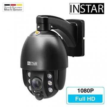 INSTAR IN-9020 Full HD IP Kamera / 4X optischer Zoom mit Auto-Fokus / 1080p / ONVIF/Netzwerk/Überwachungskamera/Videokamera/Sicherheitskamera ✪