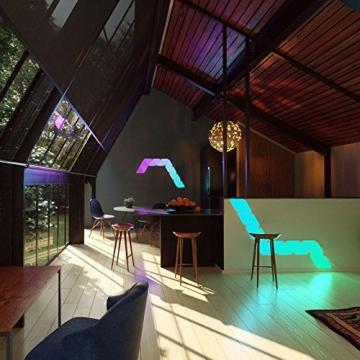 Nanoleaf Aurora – Modulare LED Wandbeleuchtung (9Stk.) ✪