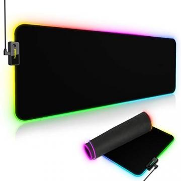 Tronsmart Spire RGB Gaming Mauspad (800 x 300 x 4 mm) ✪