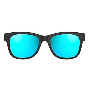 VocalSkull Bluetooth 4.1 Sonnenbrille mit integrierten Stereo Kopfhörer (bone conduct) ✪