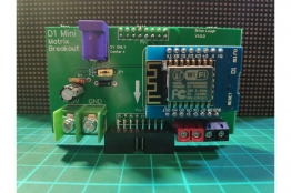 D1 Mini Matrix Shield