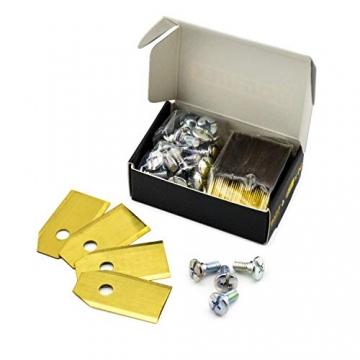 Bollmex Titan Messer 0,75mm Klingen mit Schrauben (30iger Pack) ✪