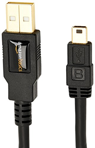 AmazonBasics IFRI USB 2.0 A-Stecker auf Mini-B-Stecker (0,9 Meter) ✪