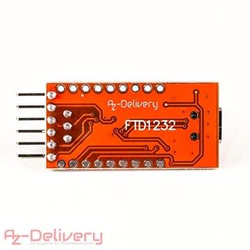 FTDI Adapter FT232RL USB zu TTL Serial für 3,3V und 5V ✪