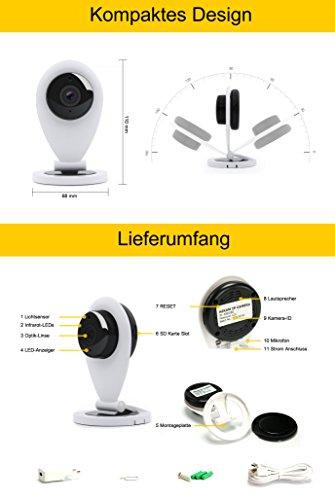 HiKam S6 - FullHD Überwachungskamera ✪