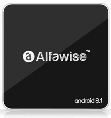 Alfawise A8 TV BOX Android 8.1 - 2GB RAM + 16GB ROM (EU-Stecker) ✪