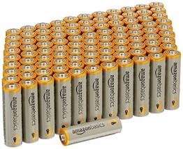 AmazonBasics Alkalibatterien, leistungsstark, AA, 100 Stück ✪
