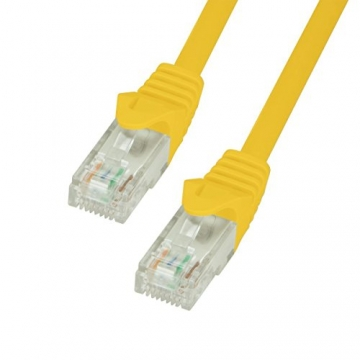 BIGtec 1,5m Netzwerkkabel - Gigabit Patchkabel orange ✪