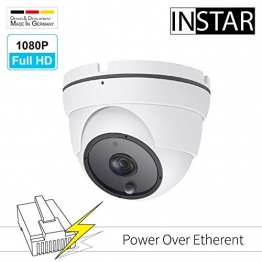 INSTAR IN-8003 Full HD IP-Kamera (PoE Version) / Überwachungskamera / Weitwinkel / Power over Ethernet / wetterfeste Innen- und Außenkamera ✪