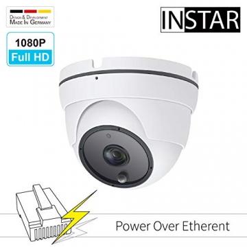 INSTAR IN-8003 Full HD IP-Kamera (PoE Version) / Überwachungskamera / Weitwinkel / Power over Ethernet / wetterfeste Innen- und Außenkamera ✪