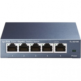 TP-Link TL-SG105 5-Port Gigabit Netzwerk Switch ✪