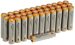 AmazonBasics Alkalibatterien, leistungsstark, AAA, 36 Stück ✪