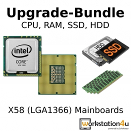 Intel Xeon X5690 Kit - CPU / RAM / SSD / HDD Bundle (Workstation4u) ✪