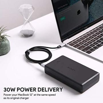 AUKEY Powerbank 26500mAh mit USB Typ-C / Quick Charge 3.0 Externer Akku für Laptop ✪