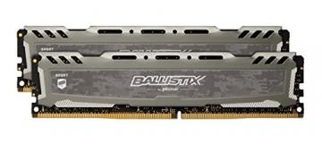 Ballistix Sport LT BLS2C8G4D240FSB 16 GB (8 GB x 2) Speicher Kit (DDR4, 2400 MT/s ✪