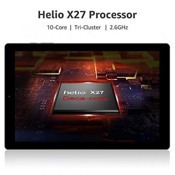 CHUWI Tablet PC HiPad LTE 10.1 Zoll mit Tastatur Android 8.0 Oreo (MT6797 X27) 2.6 GHz / 3 GB RAM / 32 GB ROM ✪